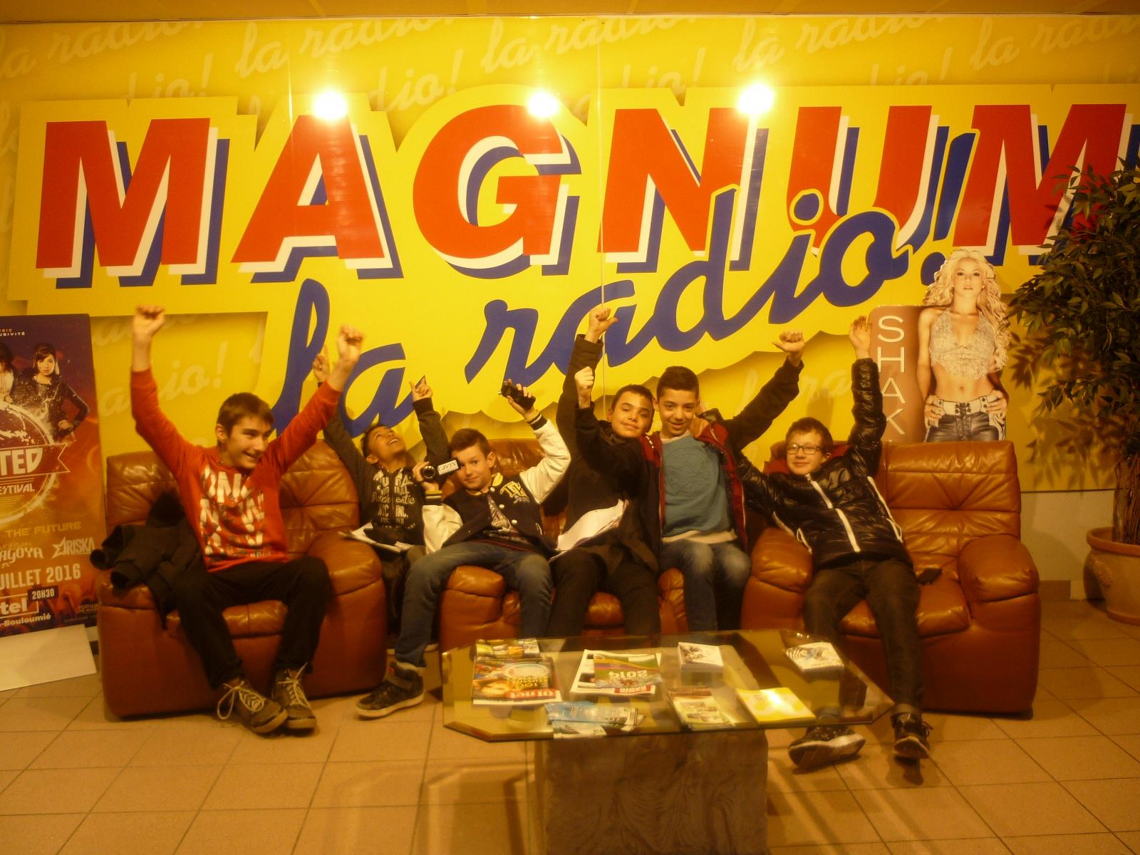 La S'cool Radio à Magnum