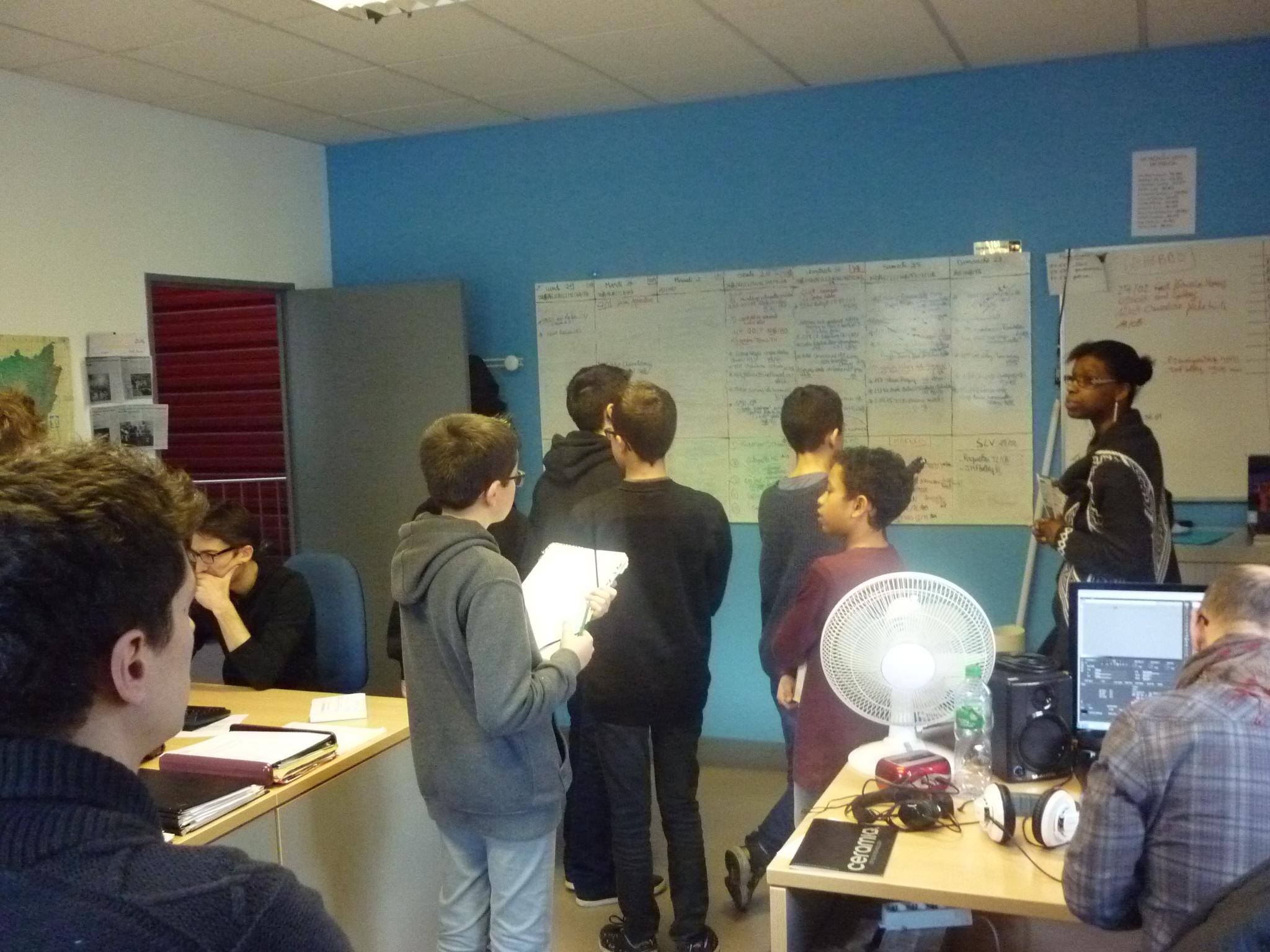 Salle de rédaction