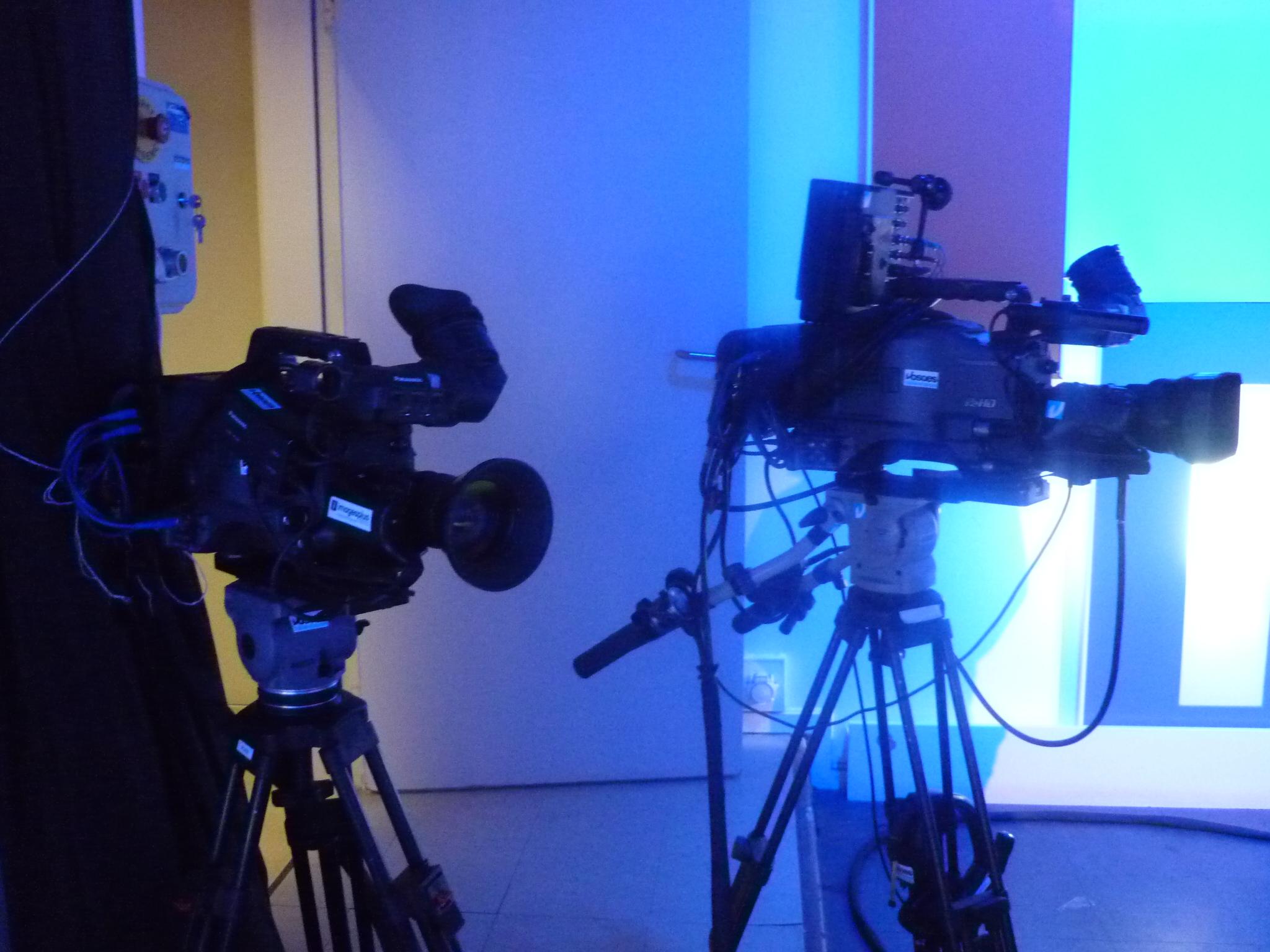 Les caméras plateau