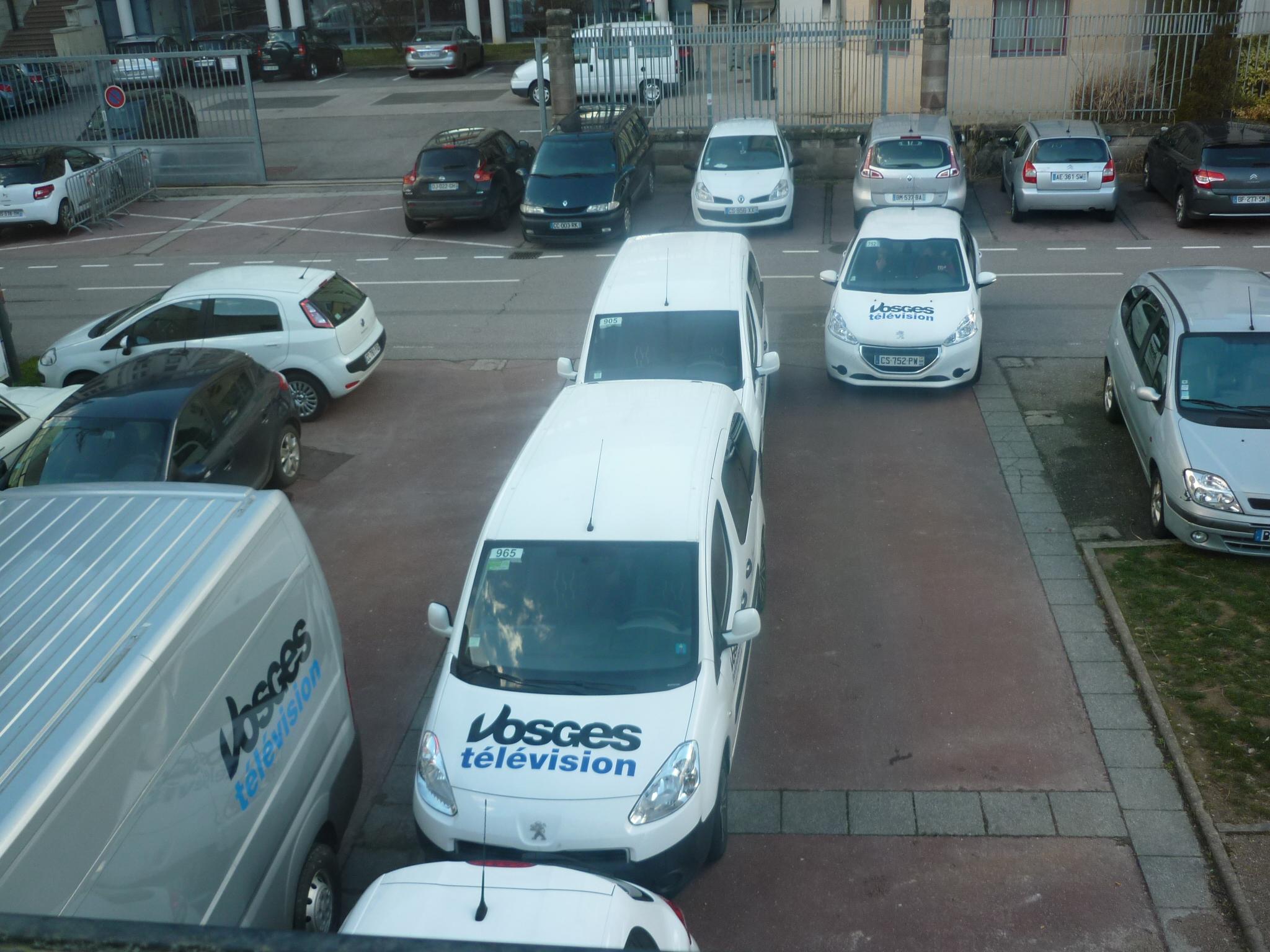 Parc automobile de Vosges TV