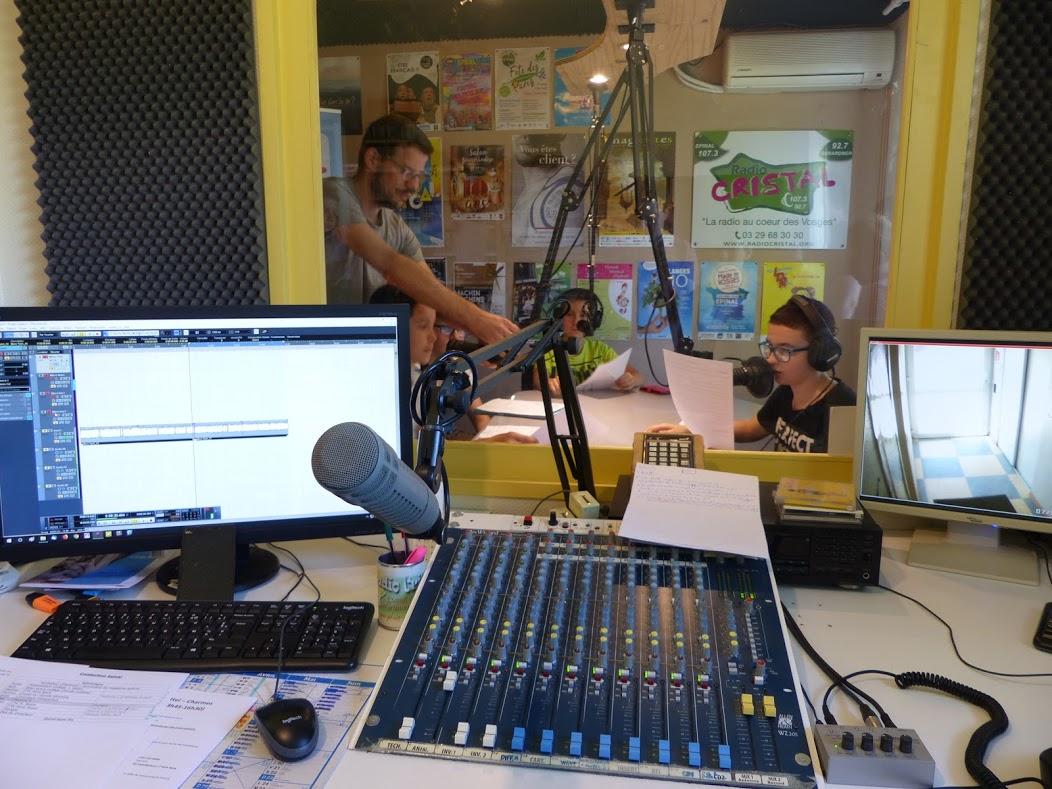 Hebdo 16 - Hebdo spécial enregistré à Radio Cristal Epinal