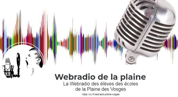 Webradio des élèves de la Plaine des Vosges