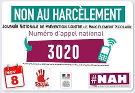 3020, non au harcèlement !